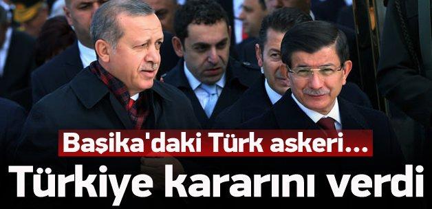 Türkiye Başika için kararını verdi