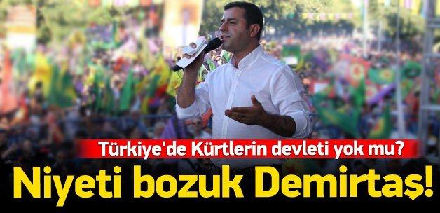 Türkiye'de Kürtlerin bir devleti yok mu?