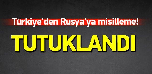 Türkiye'den Rusya'ya misilleme!