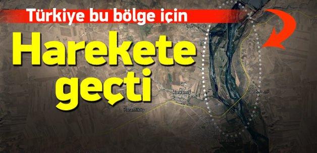Türkiye Fırat'ın batısı için harekete geçti