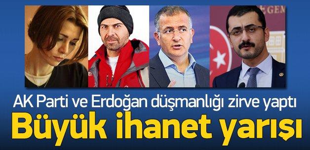 Türkiye'ye ihanette birbirleriyle yarışıyorlar