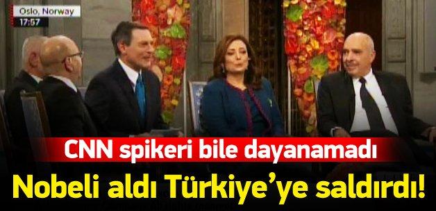 Türkiye'yi suçlayan Tunusluyu spiker susturdu