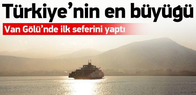 Türkiye'nin en büyük feribotu