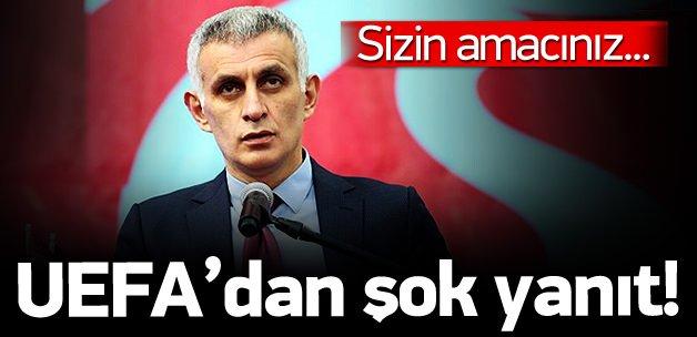 UEFA'dan Trabzonspor'a şok yanıt!