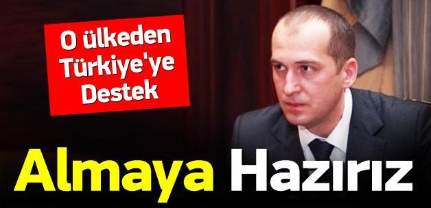 Ukrayna'dan Türkiye'ye destek: Almaya hazırız
