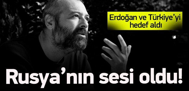 Üzümcü Rus radyosunda Erdoğan'ı eleştirdi