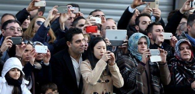 Vatandaşlardan Cumhurbaşkanı Erdoğan'a yoğun ilgi