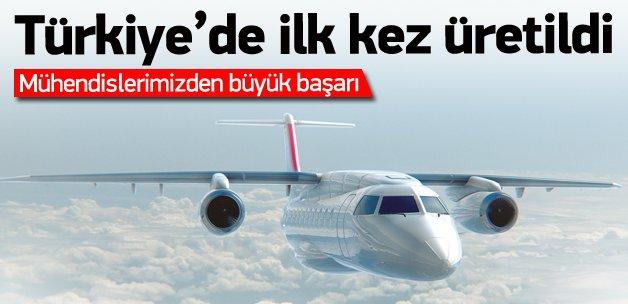 Yerli uçakta müthiş gelişme!