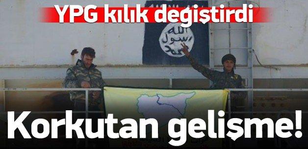 YPG Fırat'ta kılık değiştirdi