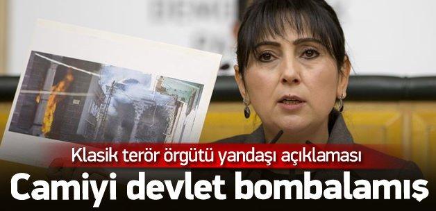 Yüksekdağ saçmaladı: Camiyi devlet yaktı