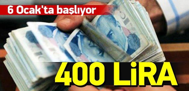 1.5 milyon öğrenciye 400 lira burs
