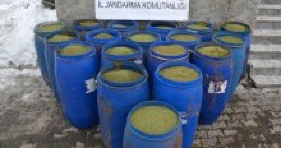 4 milyon TL değerinde toz esrar ele geçirildi