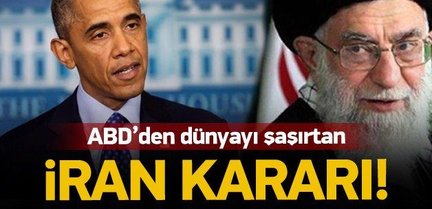 ABD'den şaşırtan İran kararı!