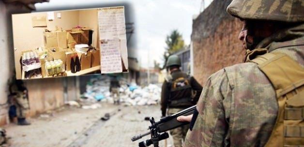 Adana'daki askerden Sur'daki tertibine not