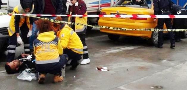 Afgan gaspçı dehşeti! Polis birini vurdu...