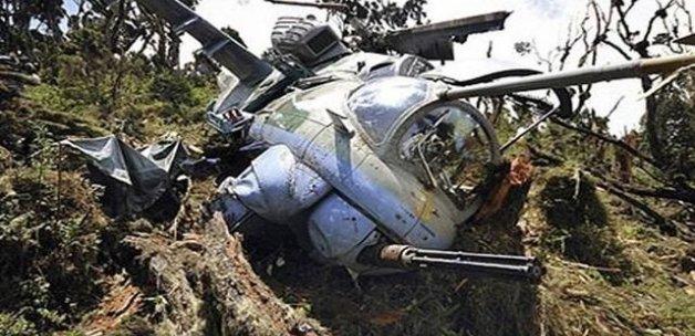 Afganistan'da askeri helikopter düştü! 3 ölü