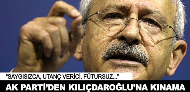 AK Parti'den Kılıçdaroğlu'na kınama