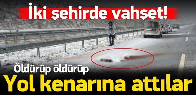 Ankara'da ve Bursa'da yolda ceset bulundu