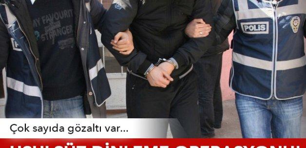Ankara merkezli 'usulsüz dinleme' operasyonunda 30 gözaltı