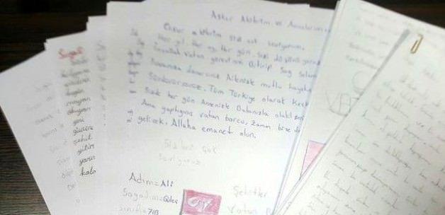 Asker ve polislere duygulandıran mektup
