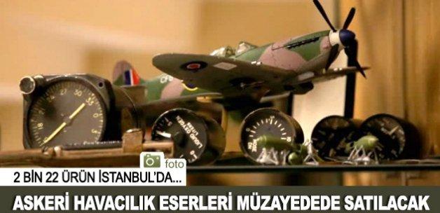 Askeri havacılık eserleri müzayedede satışa sunulacak