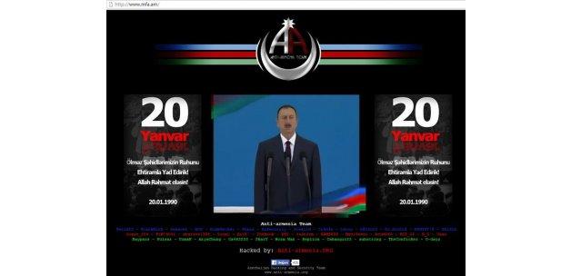 Azeri hackerlar 20 yanvar ın yıl dönümünde ermeni internet sitelerini çökertti