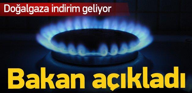 Bakan açıkladı, doğalgaza indirim geliyor!
