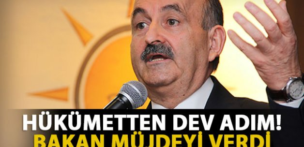 Bakan Müezzinoğlu müjdeyi verdi