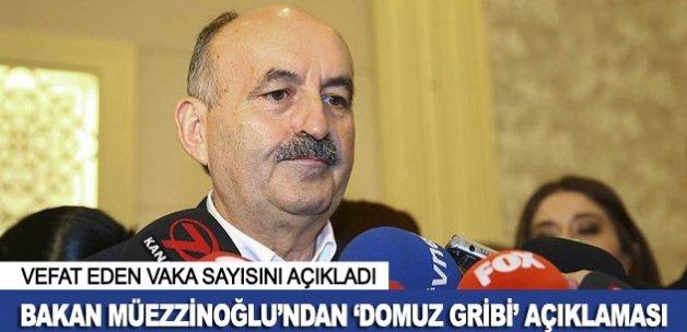 Bakan Müezzinoğlu'ndan 'domuz gribi' açıklaması