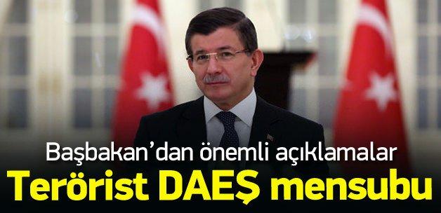Başbakan Davutoğlu: Saldırıyı yapan DAEŞ mensubu