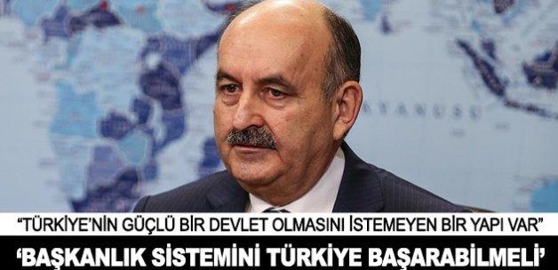 """""""Başkanlık sistemini Türkiye mutlaka başarabilmeli"""""""