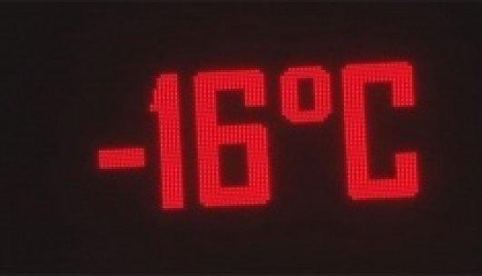 Başkent -16 derece ile buz kesti!