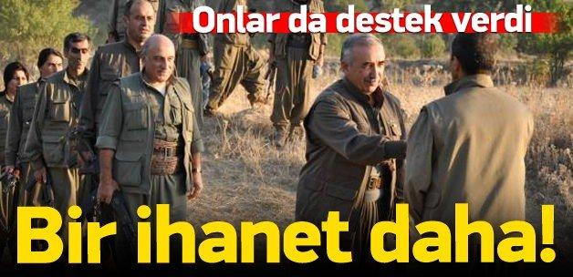 Bebek katili PKK'ya bir destek daha!
