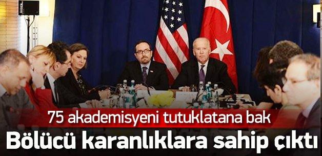 Biden'dan PKK sever akademisyenlere destek