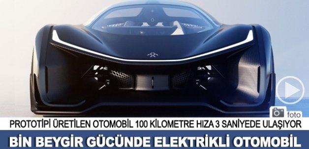 Bin beygir gücünde elektrikli otomobil