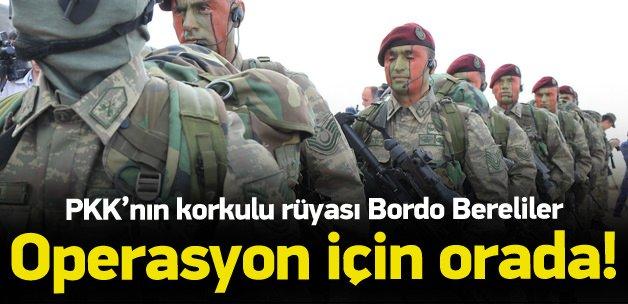 Bordo Bereliler operasyon için Diyarbakır'da