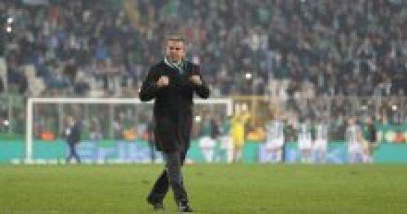 Bursaspor Hamzaoğlu ile kazanmaya alıştı