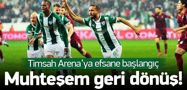 Bursaspor - Trabzonspor: 4-2