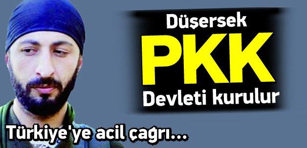 Çelik: Eğer düşersek PKK devleti kurulur
