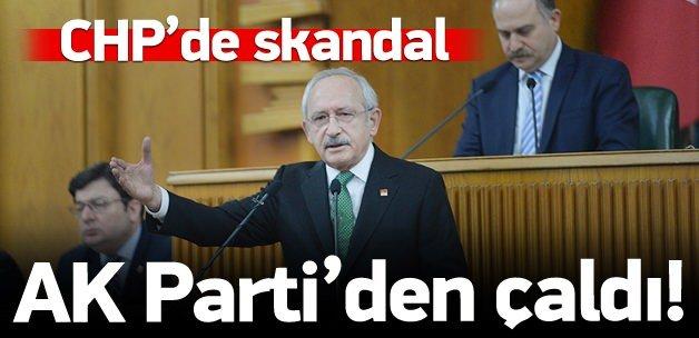 CHP, AK Parti'den çalmış!