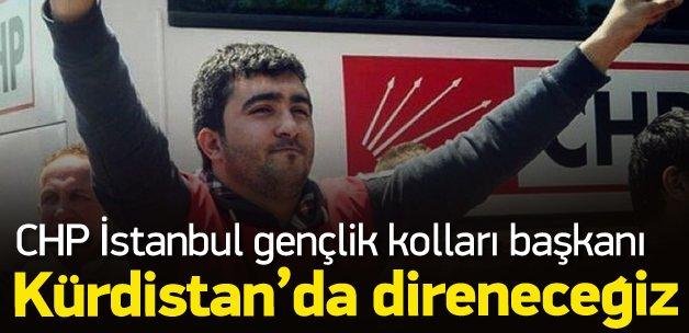 CHP İstanbul Gençlik kolları başkanından skandal