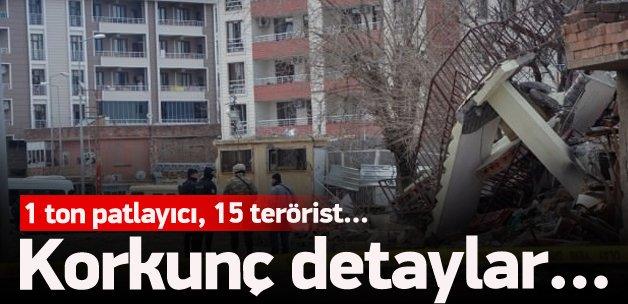 Çınar saldırısında korkunç detay: 1 ton patlayıcı
