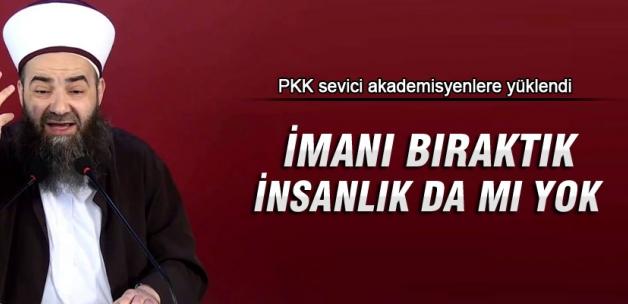Cübbeli Ahmet Hoca akademisyenlere yüklendi