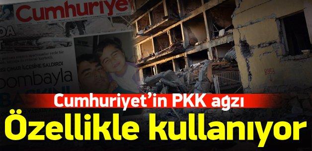 """Cumhuriyet'ten """"PKK"""" ağzı!"""