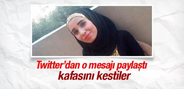 DAEŞ Suriyeli gazetecinin kafasını kesti