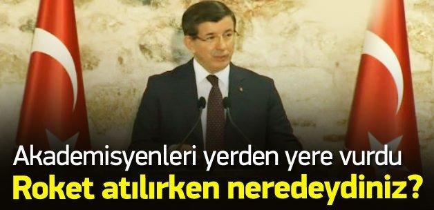 Davutoğlu: Davutoğlu: O ilçeler temizlenecek