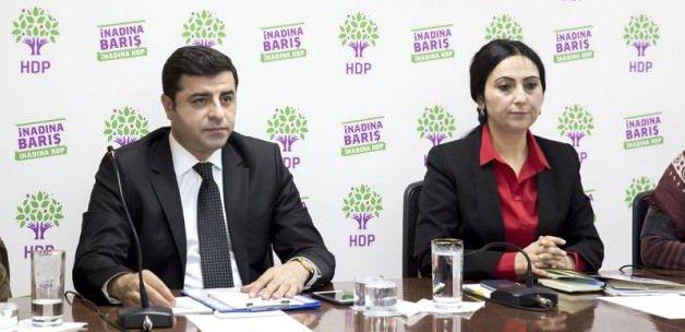 Demirtaş ve HDP'li vekiller hakkında fezleke