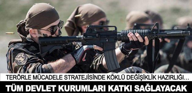 Devlet kurumları terörle mücadeleye katkı sağlayacak