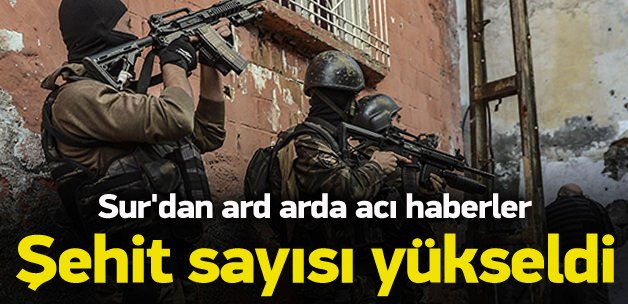 Diyarbakır'da şehit sayısı arttı