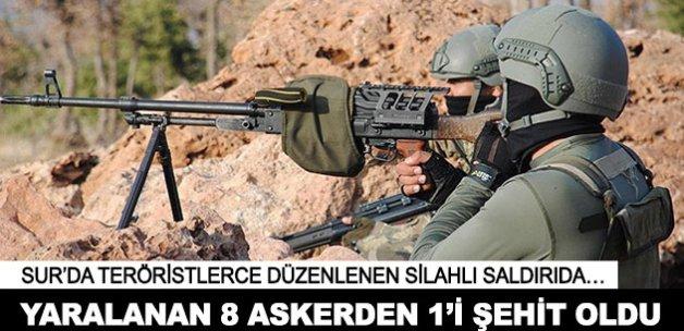 Diyarbakır'da yaralanan 8 askerden 1'i şehit oldu